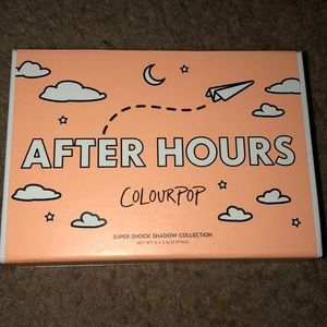 Colourpop after hours eyeshadow bundle (authentic)